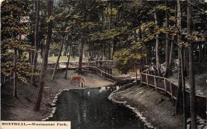 Quebec  Montreal   Westmount Park  Swan Pond, Bridge