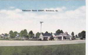 Tobacco Trail Court, Statesboro, Georgia, 30-40s
