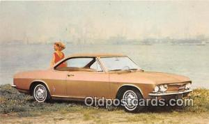Chevrolet Postcard Post Card 1965 Corvair Corsa Sport Coupe