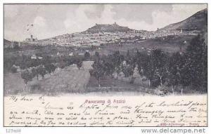 Italy - Perugia - Assisi Panorama 00s