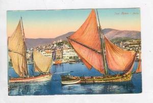 Sailboats, Porto, San Remo (Liguria), Italy, 1900-1910s