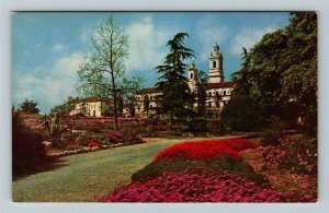 Santa Barbara CA, Saint. Anthony's Seminary, Chrome California Postcard