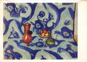 B75104 anri matiss russia    art  painting  postcard