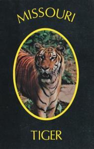 Missouri Columbia The Tiger Athletic Symbol Of The University Of Missouri