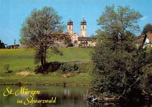 Hohenluftkurort St Maergen im Schwarzwald Church River