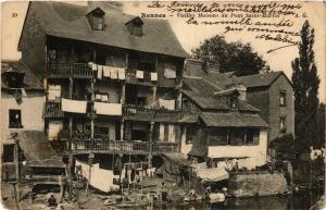 CPA RENNES - Vieilles Maisons du Pont St-Martin (356893)