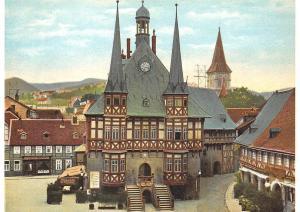 Wernigerode Rathaus um 1910 Town Hall Front view