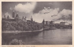 OTTAWA, Quebec, Canada, PU-1950; Houses Of Parliament From Hull