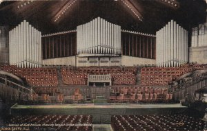 OCEAN GROVE, New Jersey, PU-1916; Interior Of Auditorium, Largest Organ