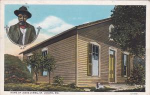 Home Of Jesse James, ST. JOSEPH, Missouri, 1910-1920s