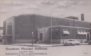 Osawatomie Municipal Auditorium Osawatomie Kansas
