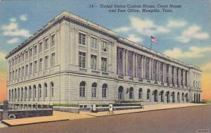 United States Custom House, Court House & Post Office, Memphis, Tennessee, 19...