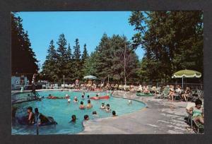WI Schwartz Resort Hotel Pool ELKHART LAKE WISCONSIN PC