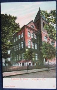 Sommerset St School Johnstown PA 1907 C E Wheelock 173
