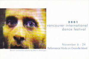 2001 Vancouver International Dance Festival