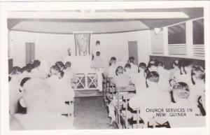 New Guinea Church Servicves Real Photo