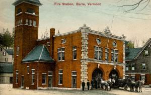 VT - Barre. Barre Central Fire Station