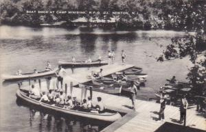 Boat Dock At Camp Minisink Newton New Jersey Artvue