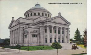 PASADENA, California, 1900-1910's; Christian Science Church