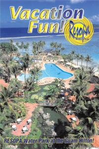 USA Resopa Water Park at the Guam Hilton Vacation Fun Swimming Pool