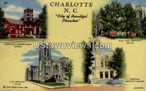 City of Beautiful Churches in Charlotte, North Carolina