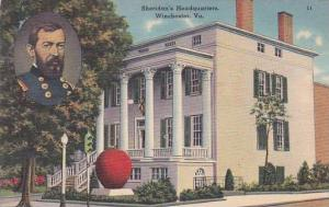 Virginia Winchester Sheridans Headquarters