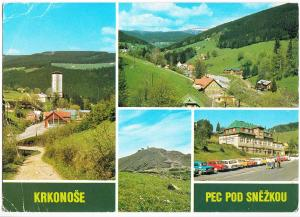 Czech Republic, KRKONOSE, PEC POD SNEZKOU, unused Postcard