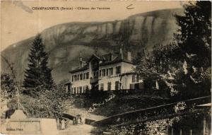 CPA AK Champagneux - Chateau des Verrieres (651877)