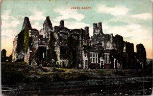 NEATH ABBEY Wales UK Vintage Postcard