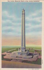 Texas San Jacinto Memorial Shaft At San Jacinto Battlefield