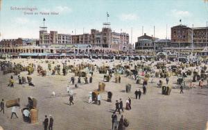 SCHEVENINGEN, Noord-Holland, Netherlands, 1900-1910's; Strand En Palace Hotel