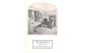 The Alcott House in Concord, Massachusetts