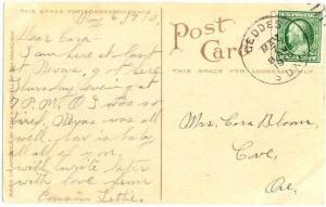 D/B General View of Pocatello Idaho ID 1910