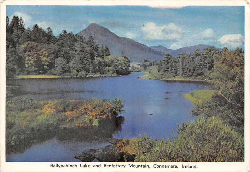 Ballynahinch Lake and Benlettery Mountain, Connemara Ireland