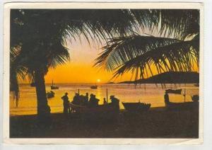 Atardecer en Playa Juan Griego , MARGARITA - VENEZUELA PU-1975