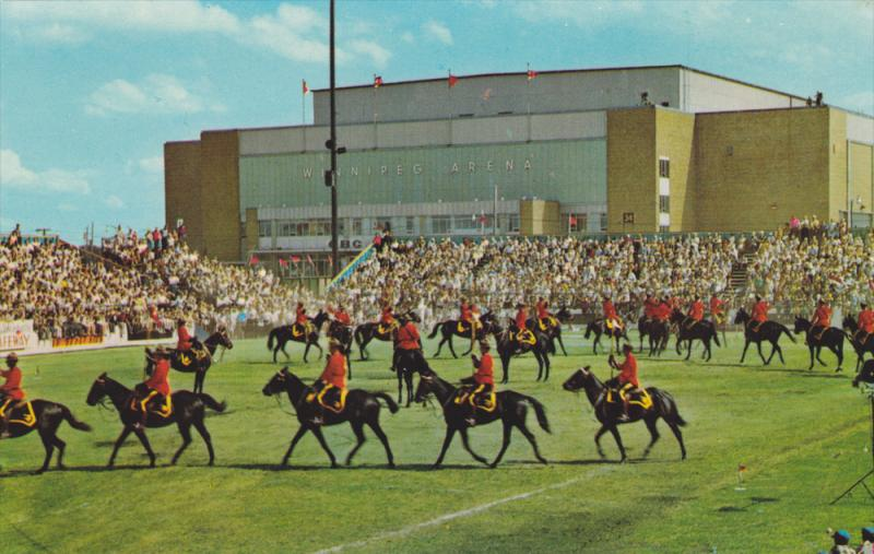 Royal Canadian Mounted Police, Musical Ride, Equestrian Training, WINNIPEG, M...