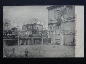 Vesuv Eruzione Del Vesuvio die Terzigno Bahnhof Neapel c1906 Selten Postkarte
