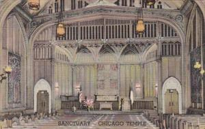 Illinois Chicago The Chicago Temple Sanctuary Curteich