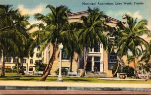 Florida Lake Worth Municipal Auditorium 1944