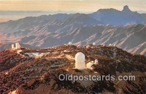 Space Postcard Post Card Papago Indian Reservation, Arizona, USA Kitt Peak Na...