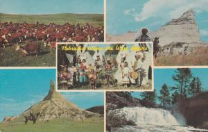 Greetings from Nebraska Where the West Begins - pm 1967