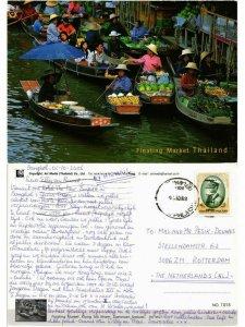 CPM AK THAILAND-Damnoen Saduak-Klong Ton Khem-Floating Market (335814)
