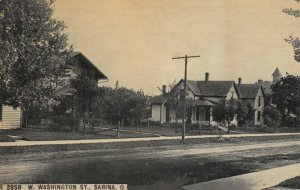 SABINA , Ohio , 1912 ; West Washington Street
