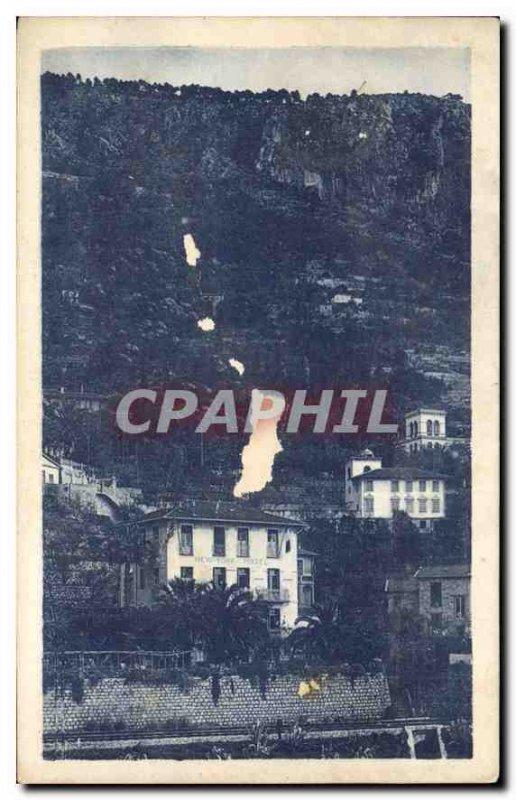 Postcard Old New York Hotel Menton Garavan A M