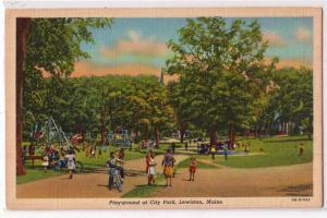 Play Ground, City Park, Lewiston ME