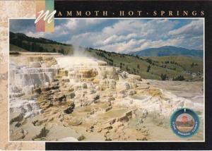 Wyoming Yellowstone National Park Mammoth Hot Springs