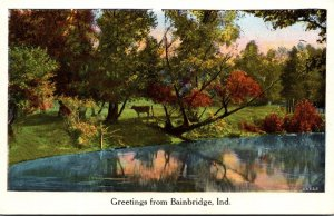 Indiana Greetings From Bainbridge 1930