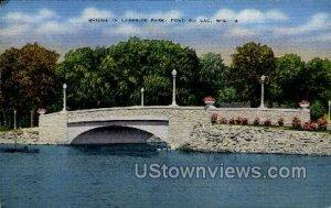 Bridge in Lakeside Park - Fond du Lac, Wisconsin