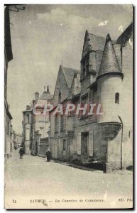 Old Postcard Saumur Chamber of Commerce