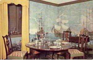 SEA CAPTAIN'S DINING ROOM SHELBURNE MUSEUM VERMONT